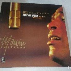 CDs de Música: MARVIN GAYE THE MASTER 4 CD'S EN MUY BIEN ESTADO LIBRO 120 PÁGINAS DESCATALOGADO. Lote 110642607
