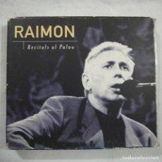 CDs de Música: RAIMON - RECITALS AL PALAU - CD 1997. Lote 110668023
