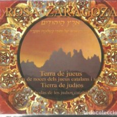 CDs de Música: CD ROSA ZARAGOZA : TIERRA DE JUDIOS ( TERRA DE JUEUS ) . Lote 110683375
