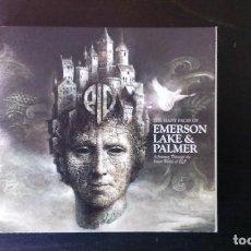 CDs de Música: CD TRIPLE EMERSON, LAKE & PALMER THE MANY FACES OF ROCK PROGRESIVO 70'S DIGIPACK. Lote 110703299