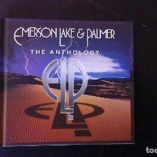 CDs de Música: CD DOBLE EMERSON, LAKE & PALMER THE ANTHOLOGY ROCK PROGRESIVO 70'S DIGIPACK. Lote 110705887