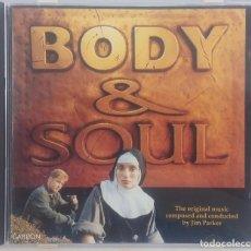 CDs de Música: BODY & SOUL - JIM PARKER - CD - OST / BSO / SOUNDTRACK / BANDA SONORA. Lote 110745635