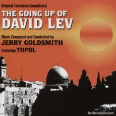 CDs de Música: THE GOING UP OF DAVID LEV / JERRY GOLDSMITH CD BSO. Lote 110762183