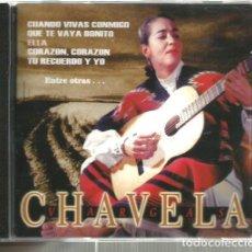 CDs de Música: CD CHAVELA VARGAS : CHAVELA . Lote 110792207