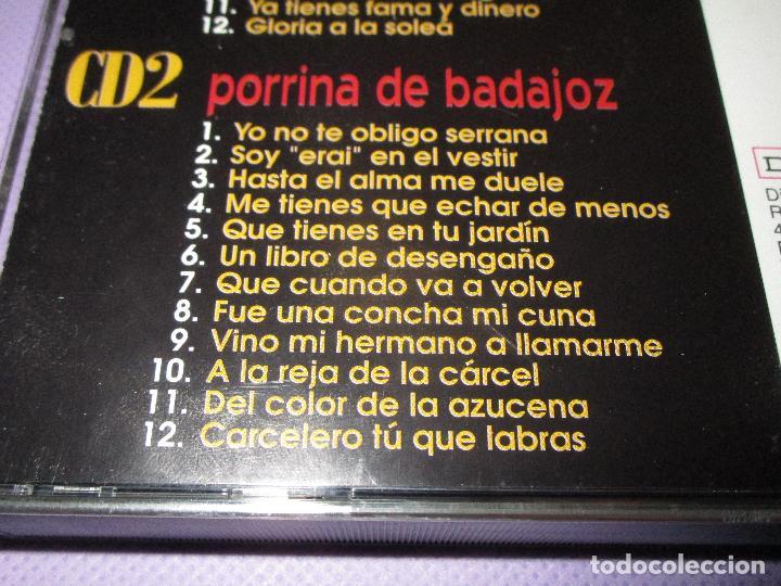 CDs de Música: PEPE PINTO - PORRINA DE BADAJOZ ( GRANDES DE ESPAÑA ) - 2 CD - BELGE2CD004 - DISCOS BELTER - Foto 5 - 110820447