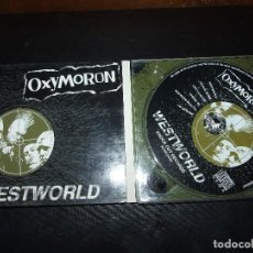CDs de Música: OXYMORON - WESTWORLD - KNOCK OUT RECORDS. Lote 110834775