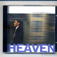 CD de Música: JIMMY SCOTT-HEAVEN (CD) CONTIENE COVERS: TALKING HEADS, CURTIS MAYFIELD, BOB DYLAN. Lote 110883195
