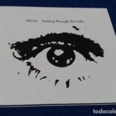 CDs de Música: DELUXE ( LOOKING THROUGH THE HOLE ) 2002 EL DIABLO DIGIPACK MP011 ESPECIAL. Lote 110901243