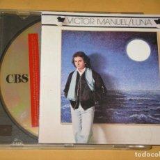 CDs de Música: VICTOR MANUEL, LUNA, CD. Lote 110906215