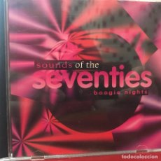 CDs de Música: CD DE ARTISTAS VARIOS SOUNDS OF THE SEVENTIES: BOOGIE NIGHTS AÑO 1996. Lote 110915027
