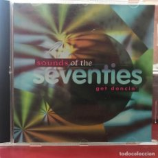CDs de Música: CD DE ARTISTAS VARIOS SOUNDS OF THE SEVENTIES: GET DANCIN´ AÑO 1996. Lote 110915427
