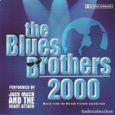 CDs de Música: JACK MACK AND THE HEART ATTACK - THE BLUES BROTHERS 2000 . Lote 110922731