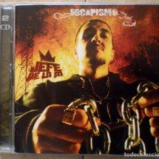 CDs de Música: JEFE DE LA M – ESCAPISMO 2CD 2005 SOUL CLAP RECORDS RARO. Lote 110952771