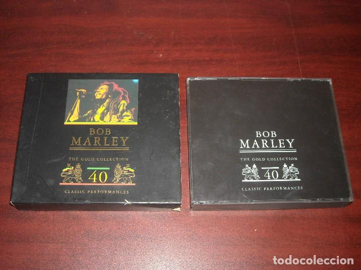DOBLE CD- BOB MARLEY- GOLD COLLECTION 40 - VER DETALLES (Música - CD's Otros Estilos)