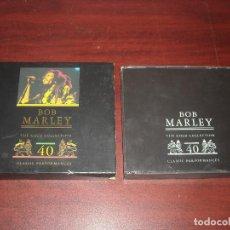 CDs de Música: DOBLE CD- BOB MARLEY- GOLD COLLECTION 40 - VER DETALLES. Lote 111040995