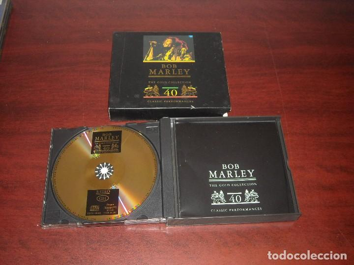 CDs de Música: DOBLE CD- BOB MARLEY- GOLD COLLECTION 40 - VER DETALLES - Foto 2 - 111040995