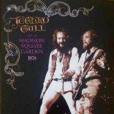 CDs de Música: JETHRO TULL. MADISON SQUARE GARDEN AÑO 1978. CD + DVD + LIBRETO. Lote 111112551