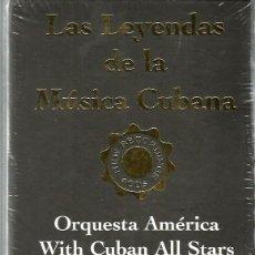 CDs de Música: BOX SET LAS LEYENDAS DE LA MUSICA CUBANA (LIBRO + 3 CD) CHUCHO VALDES, FELIX REINA, CUBAN ALL STARS . Lote 111180903