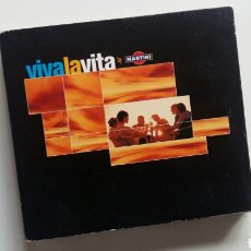 CDs de Música: (SEVILLA) CD DOBLE - MARTINI VIVA LA VITA. CHILL OUT. Lote 111188288