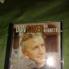 CDs de Música: DON BAKER. NO REGRETS. Lote 111192071