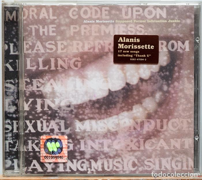 MORISSETTE JUNKIE BAIXAR INFATUATION FORMER ALANIS CD SUPPOSED