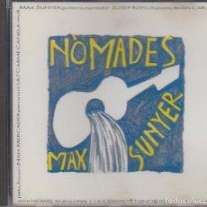 CDs de Música: MAX SUNYER CD NÒMADES 1992 PDI KITFLUS CARLES BENAVENT JORGE PARDO. Lote 111281835