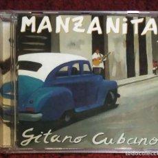 CDs de Música: MANZANITA (GITANO CUBANO) CD 2002 - CON LOLITA, RAIMUNDO AMADOR, LUCRECIA Y DAVID MONTES. Lote 216598971