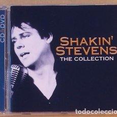 CDs de Música: SHAKIN STEVENS - THE COLLECTION (CD+DVD) 2005 . Lote 111297015