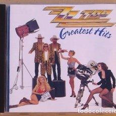 CDs de Música: ZZ TOP - GREATEST HITS (CD) 1992 . Lote 111298051
