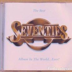 CDs de Música: THE BEST SEVENTIES - DAVID BOWIE, BLONDIE, ALICE COOPER, SLADE, T.REX, MADNESS.(2CD) 1997 - 42 TEMAS. Lote 111299727