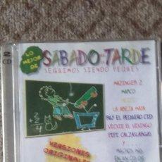 CDs de Música: 2CD SABADO POR LA TARDE-SEGUIMOS SIENDO PEQUES. Lote 111301927