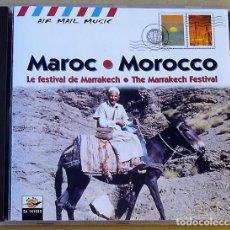 CDs de Música: VARIOS - THE MARRAKECH FESTIVAL (CD) 1999 - 9 TEMAS. Lote 111322463