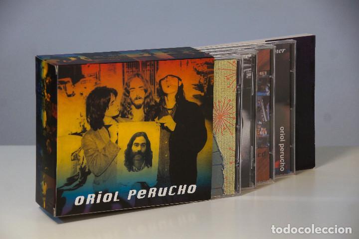 ORIOL PERUCHO BOX. ESTUCHE PRECINTADO CON 4 CD + 1DVD + LIBRETO. EDICIÓN LIMITADA. (Música - CD's Jazz, Blues, Soul y Gospel)