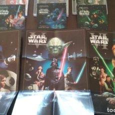 CDs de Música: STAR WARS TRILOGY+I-III (GUERRA DE LAS GALAXIAS - 9 CD + 1 DVD CON HOLOGRAMAS Y POSTERS). Lote 111355799