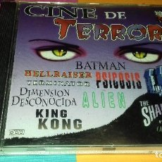CDs de Música: CD ORIGINAL CINE DE TERROR - 11 TEMAS - 1998. Lote 111372827