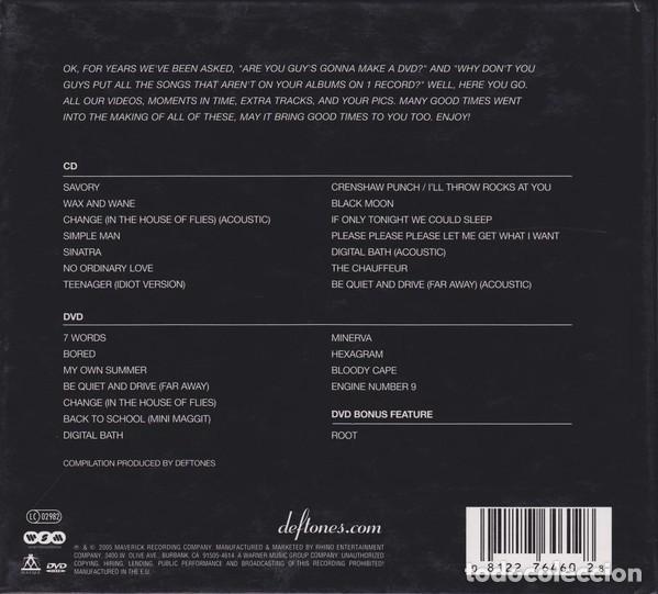 CDs de Música: Deftones – B-Sides & Rarities -doble cd-edicion digipak - Foto 2 - 111376127