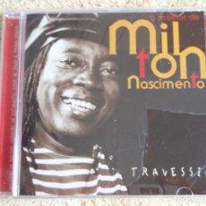 CDs de Música: MILTON NASCIMENTO ( TRAVESSIA: O MELHOR DE MILTON NASCIMENTO ) CD PRECINTADO 1998-BRASIL. Lote 111405043