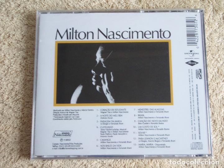 CDs de Música: MILTON NASCIMENTO ( AO VIVO ) CD PRECINTADO 1983-BRASIL - Foto 2 - 111407171