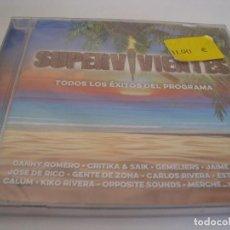 CD de Música: RAR CD. SUPERVIVIENTES. TODOS LOS ÉXITOS DEL PROGRAMA. SEALED. PRECINTADO. Lote 111407667