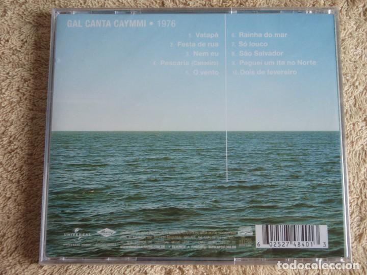 CDs de Música: GAL COSTA ( GAL CANTA CAYMMI ) CD PRECINTADO 2010-BRASIL - Foto 2 - 111407823