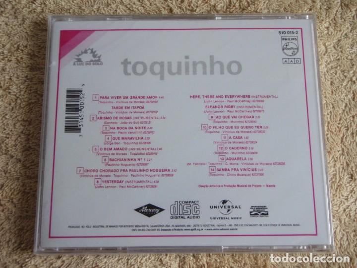 CDs de Música: TOQUINHO ( A LUZ DO SOLO ) CD PRECINTADO BRASIL - Foto 2 - 111416371