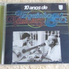 CDs de Música: TOQUINHO & VINICIUS DE MORAES ( 10 ANOS DE TOQUINHO & VINICIUS ) CD PRECINTADO 1989-BRASIL. Lote 111417551