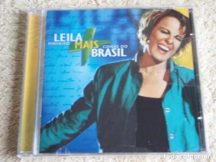 LEILA PINHEIRO ( COISAS DO BRASIL ) CD PRECINTADO 2001-BRASIL (Música - CD's Latina)