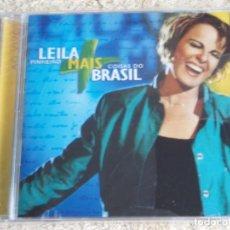 CDs de Música: LEILA PINHEIRO ( COISAS DO BRASIL ) CD PRECINTADO 2001-BRASIL. Lote 111418283