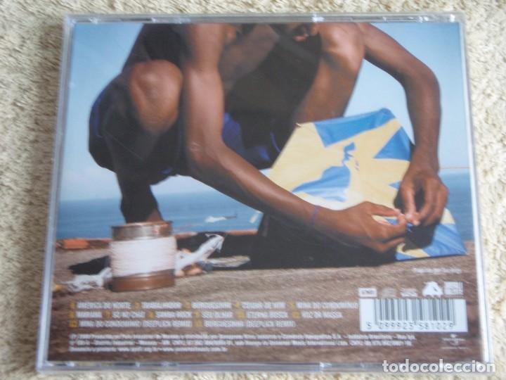 CDs de Música: SEU JORGE ( AMERICA BRASIL O DISCO ) CD PRECINTADO 2009-BRASIL - Foto 2 - 111421675