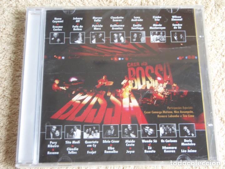 CASA DA BOSSA AO VIVO - VARIOS CANTANTES CD PRECINTADO 1997-BRASIL (Música - CD's Latina)