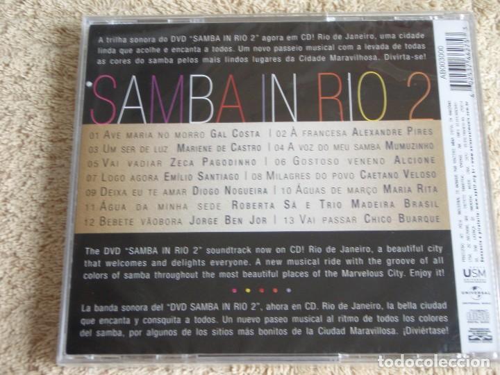 CDs de Música: SAMBA IN RIO 2 - VARIOS CANTANTES ( 13 CANCIONES ) CD PRECINTADO - Foto 2 - 111423131