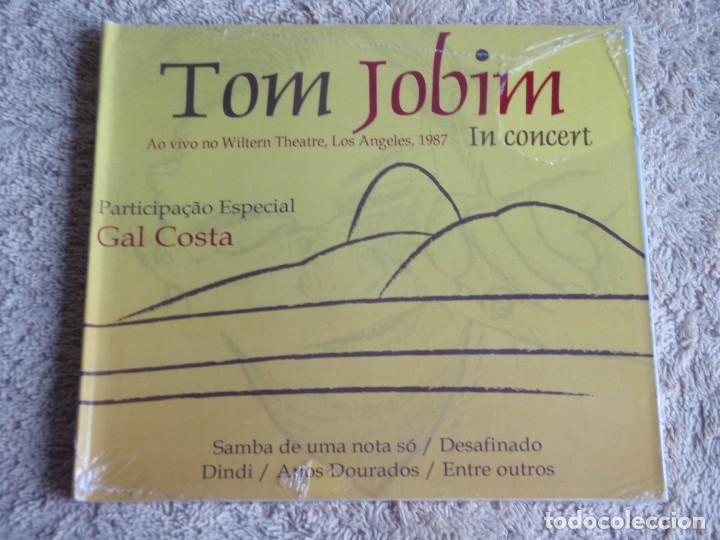 TOM JOBIM (TOM JOBIM IN CONCERT & GAL COSTA) AO VIVO NO WILTERN THEATRE, LOS ANGELES,CD PRECINTADO (Música - CD's Latina)
