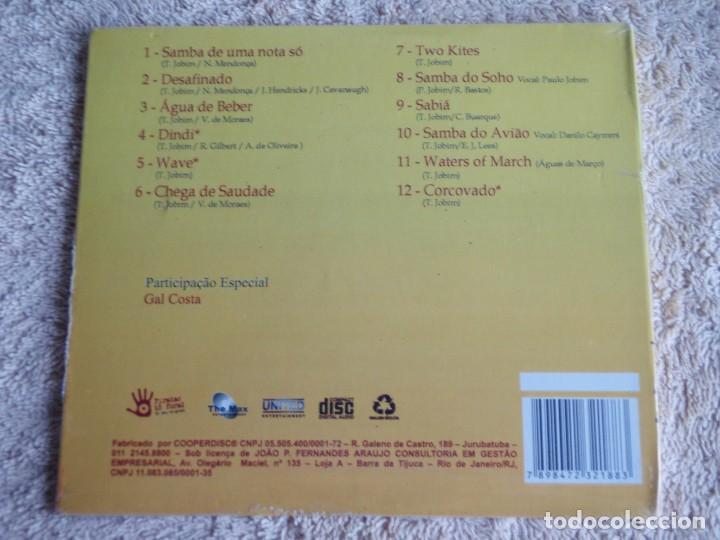 CDs de Música: TOM JOBIM (TOM JOBIM IN CONCERT & GAL COSTA) AO VIVO NO WILTERN THEATRE, LOS ANGELES,CD PRECINTADO - Foto 2 - 111424563