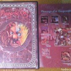 CDs de Música: MAGO DE OZ-FINISTERRA DVD. HEAVY METAL. Lote 111439082